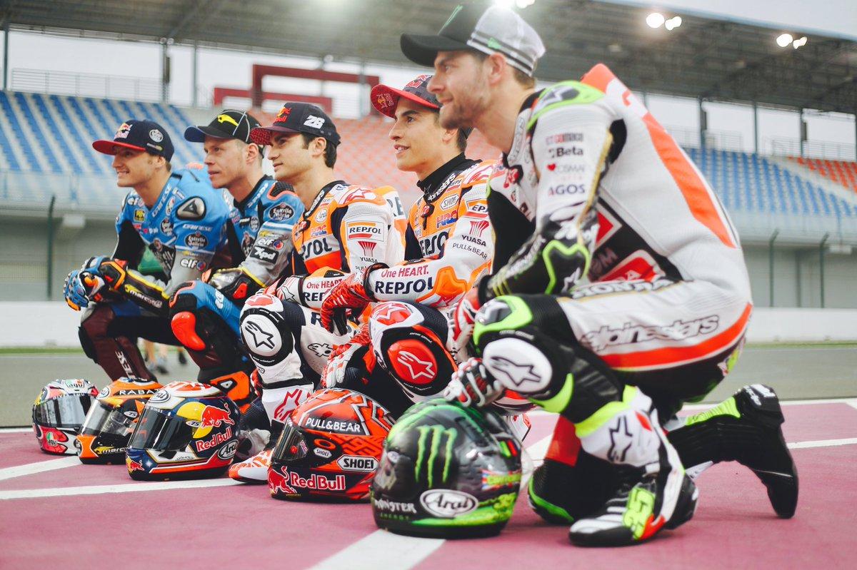 Preparados, listos, ya!  Ready, steady, go! ✊🏼 #MotoGP #NewSeason #Qat...