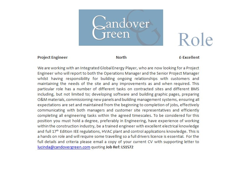 #Project #Engineer - #North - £Excellent - #Energy, Oil &amp; #Gas - Ref: LS1572<br>http://pic.twitter.com/OwseZeNzAE