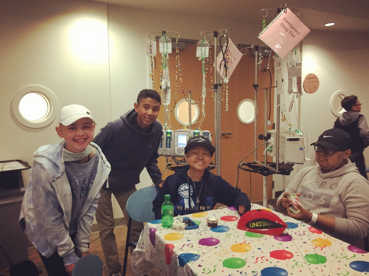 Celebrating @TokiKaysen &#39;s 12th Birthday 3/21/17. #heroes #fighters #Courage<br>http://pic.twitter.com/uwMw4BYowo &ndash; à City Of Hope