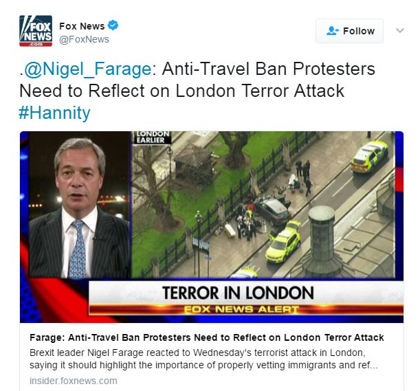Khalid Masood was British born and lived in Kent. What does he mean? Ban people from Kent?