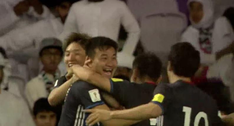 هدف اليابان الثاني عن طريق كونو