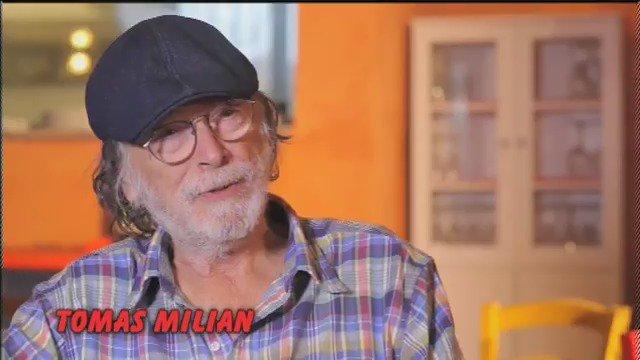 """Ci ha lasciati anche #TomasMilian, dai film d'autore a """"er Monnezza"""",..."""