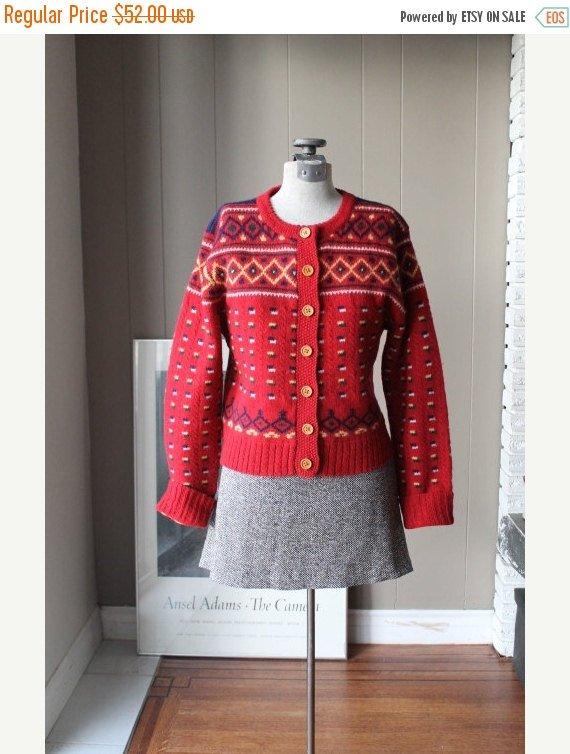 30% OFF 70s Fair Isle Cardigan Wool Sweater Cropped Scandinavian Norweg…  http:// tuppu.net/5758f894  &nbsp;   #Liinaloom #Sweater <br>http://pic.twitter.com/VKfXAJOjAr