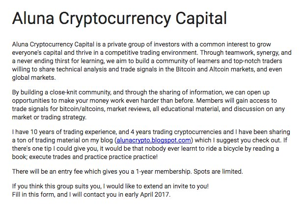altcoin trader contacts