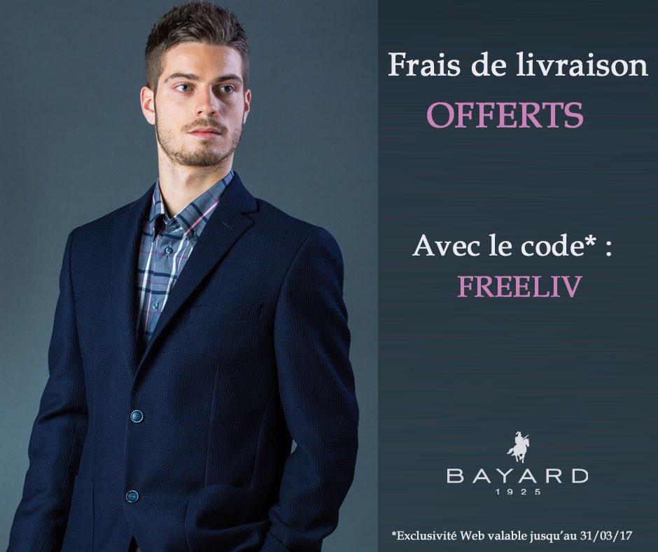 #Polo, #chemise, #pull... Faites-vous plaisir ! Les frais de port sont offerts sur l'eshop avec le code FREELIV :) &gt;  http://www. bayard-homme.fr  &nbsp;  <br>http://pic.twitter.com/aeGsrPS36d