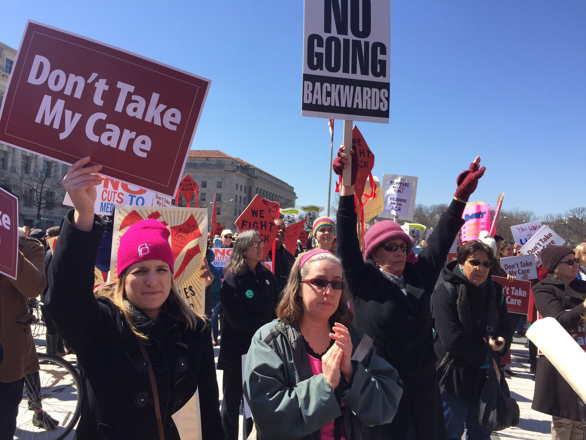 We're rallying to stop the DANGEROUS #ACArepeal. Are you with us? #WeF...