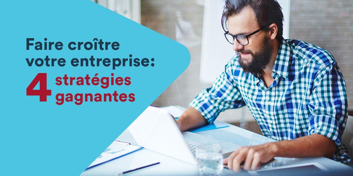 4 #stratégies gagnantes pour surmonter les défis associés à la croissance de votre entreprise ►  http:// ow.ly/VRj530a9URd  &nbsp;   #entrepreneur<br>http://pic.twitter.com/YQZtbQeF2f