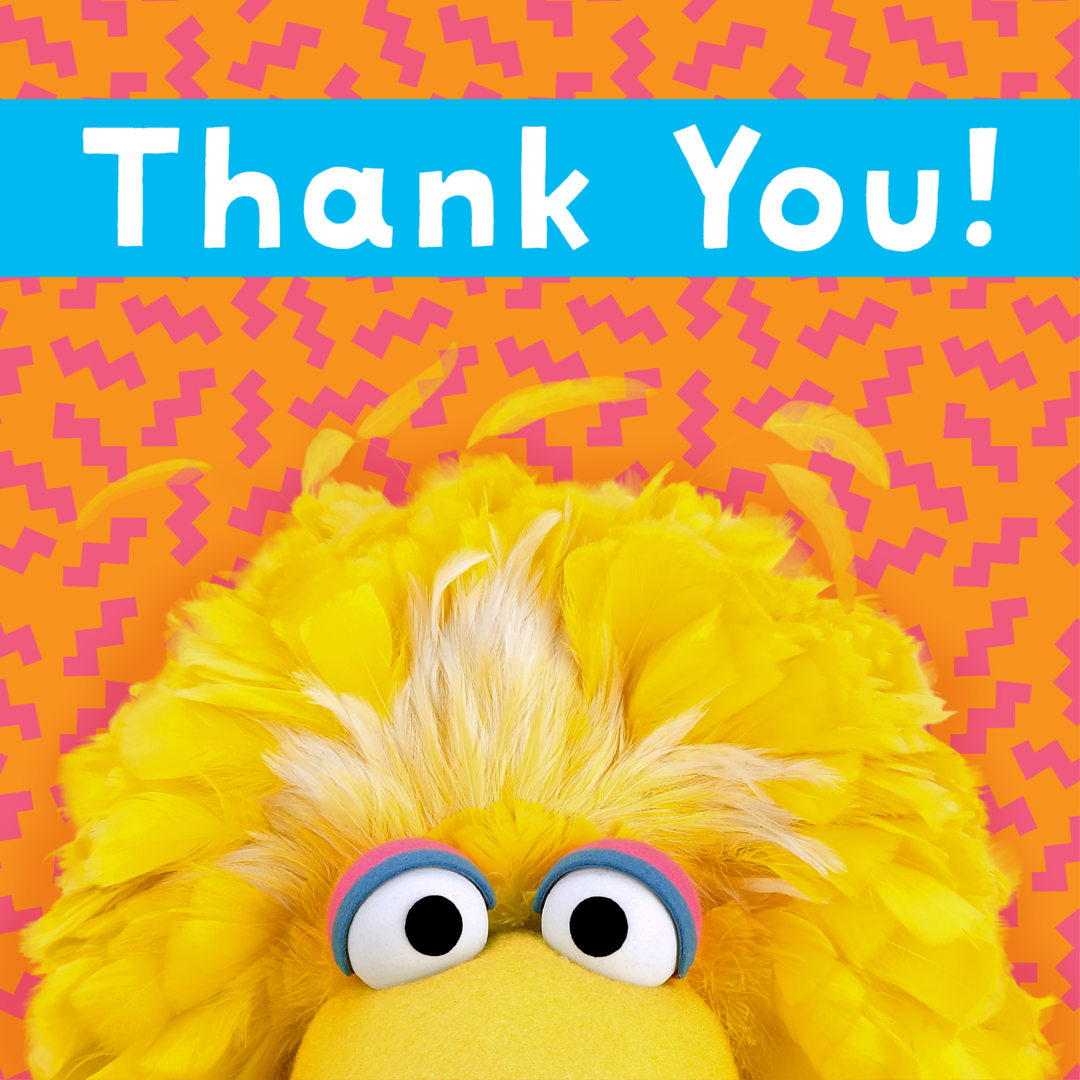 Thank you to everyone who helped us celebrate @BigBird's birthday yest...