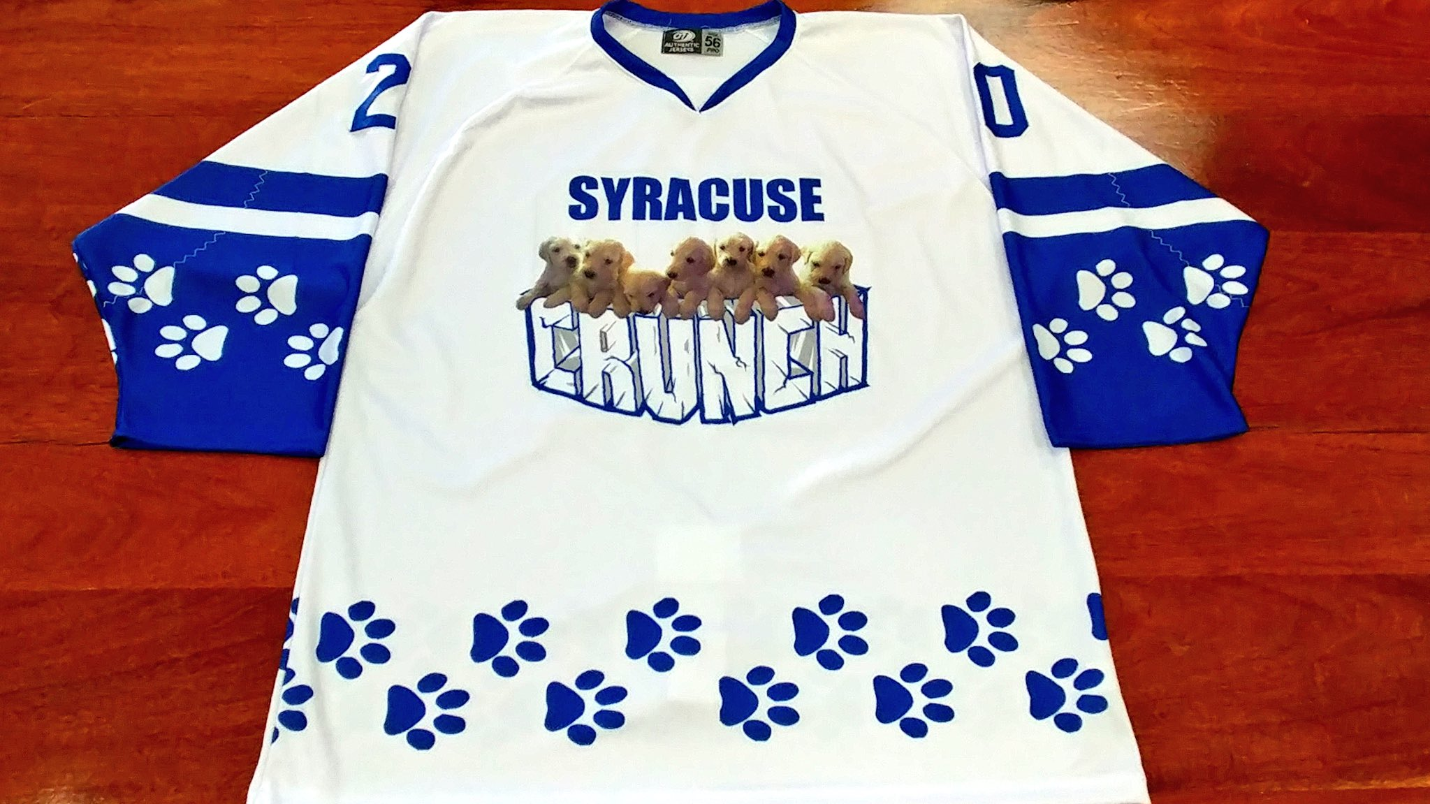 """Syracuse Crunch on Twitter """"No better way to celebrate"""