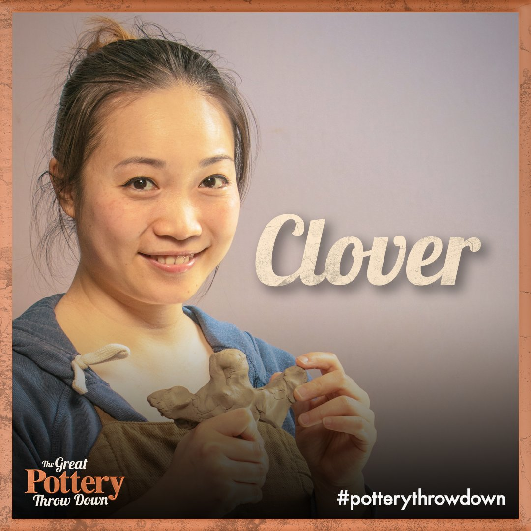 RT if you want Clover to claim the trophy! #PotteryThrowdown. The Fina...