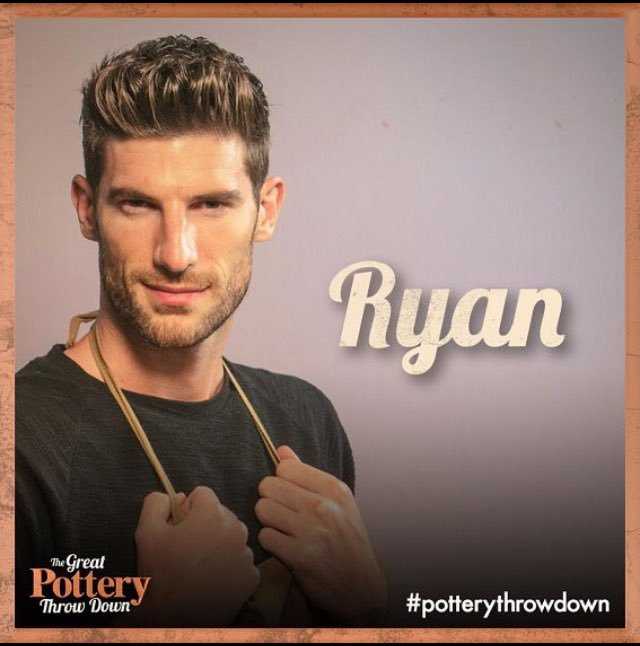 RT if you back Ryan for glazing glory! #PotteryThrowdown. The Final. T...