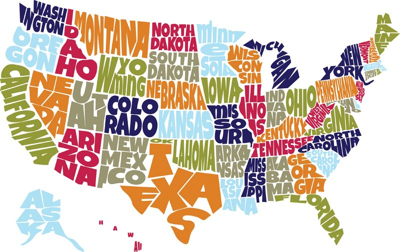 Q1: Have you been to all 50 states? If not, how many have you been to?...