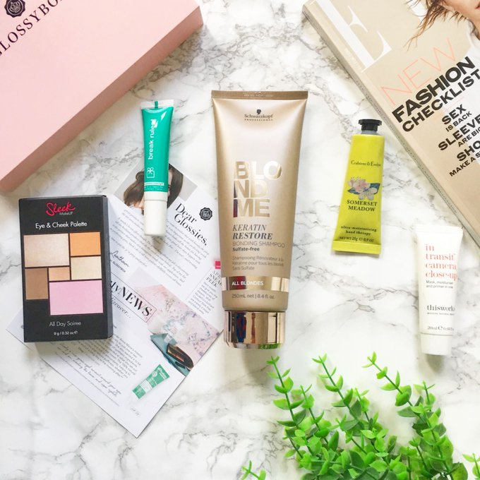 40% OFF the March GLOSSYBOX!