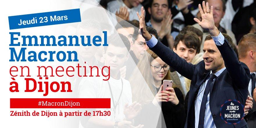 #DIRECT Suivez le meeting d&#39;@EmmanuelMacron #MacronDijon   https://www. facebook.com/EnMarche/video s/756777657833772/ &nbsp; … <br>http://pic.twitter.com/98hKJJowht