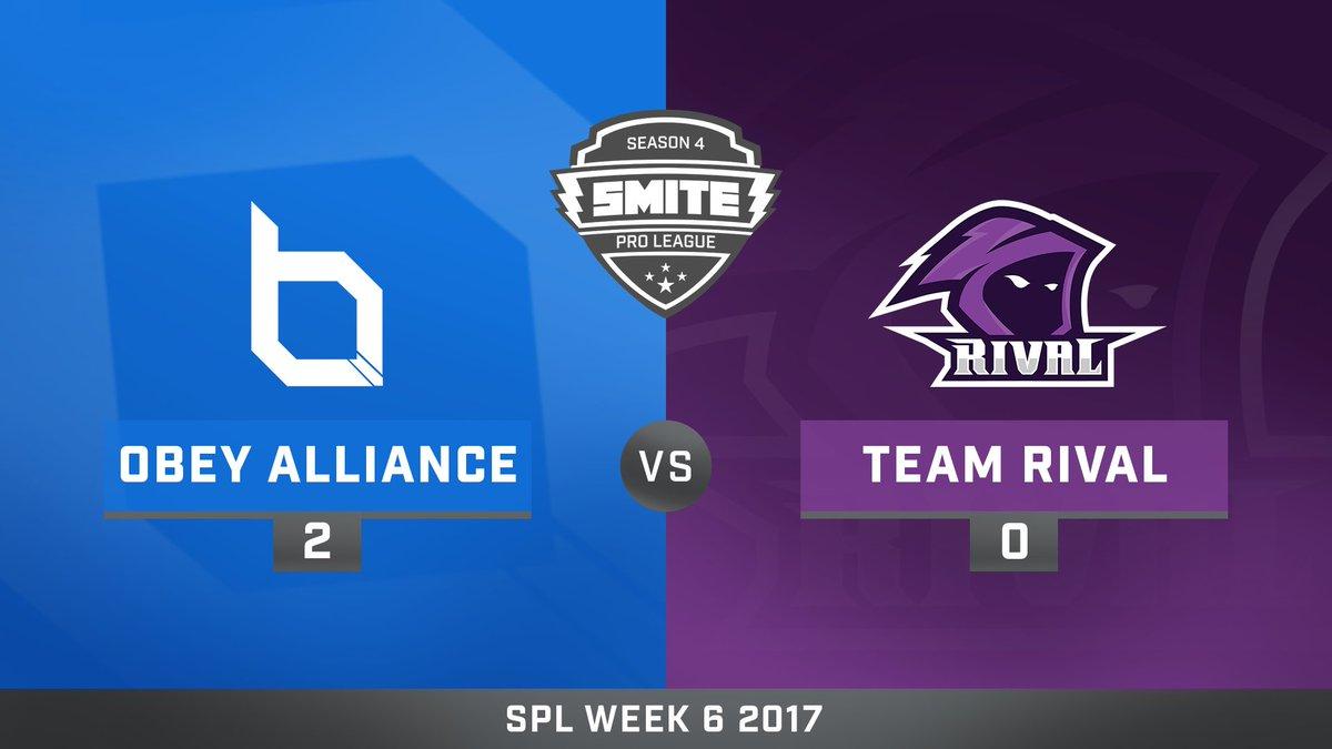 Obey Alliance vs Team Rival