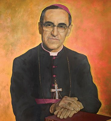 It is the anniversary of The Blessed Oscar Romero's death on 24th March. We are celebrating a special mass on Friday at 11am