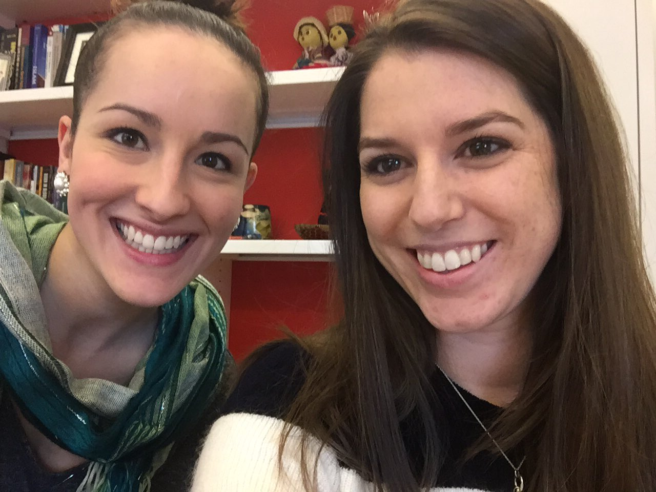 Admissions counselor #selfie for March Photo Madness -- hi @MaryAtDson and @AmyatDson! #dsonphotos https://t.co/A1mEWBZ114