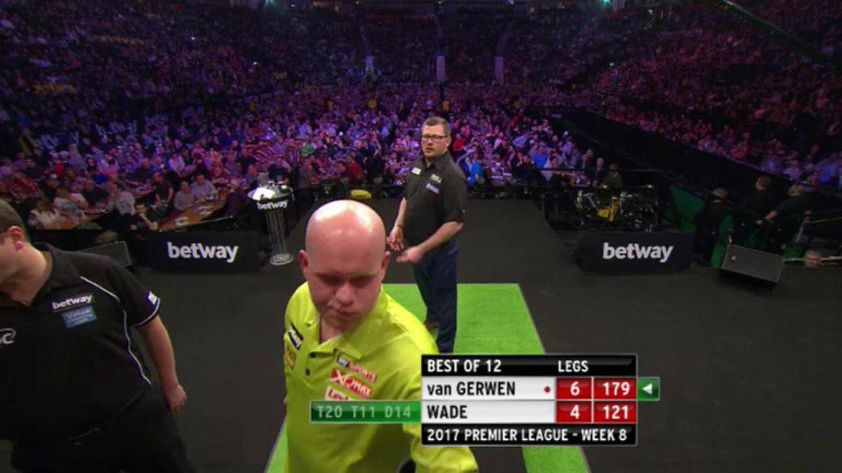 World record from @MvG180 in Manchester as he completes an opening mat...