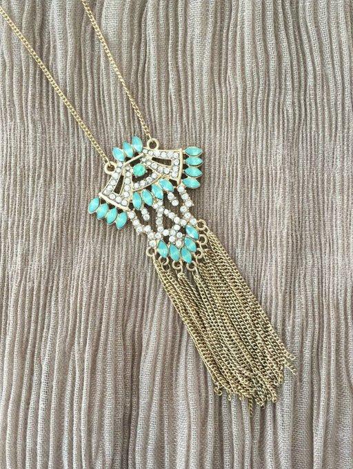 Savannah Tassel Necklace