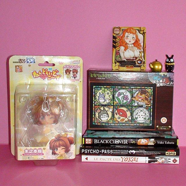 Voici mes achats de mardi soir à @mangadokaze Il y a aussi un puzzle #Totoro et 3 mangas @EditionsKana @KazeFrance @DelcourtTonkam<br>http://pic.twitter.com/xzMxQhNcdx
