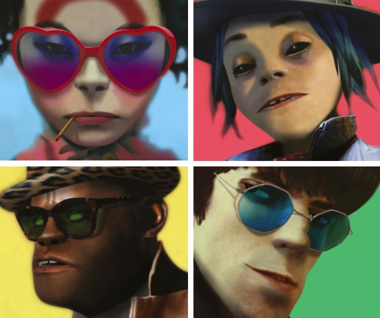 BREAKING: Listen to @Gorillaz' new Humanz singles, 'Saturnz Barz' and...