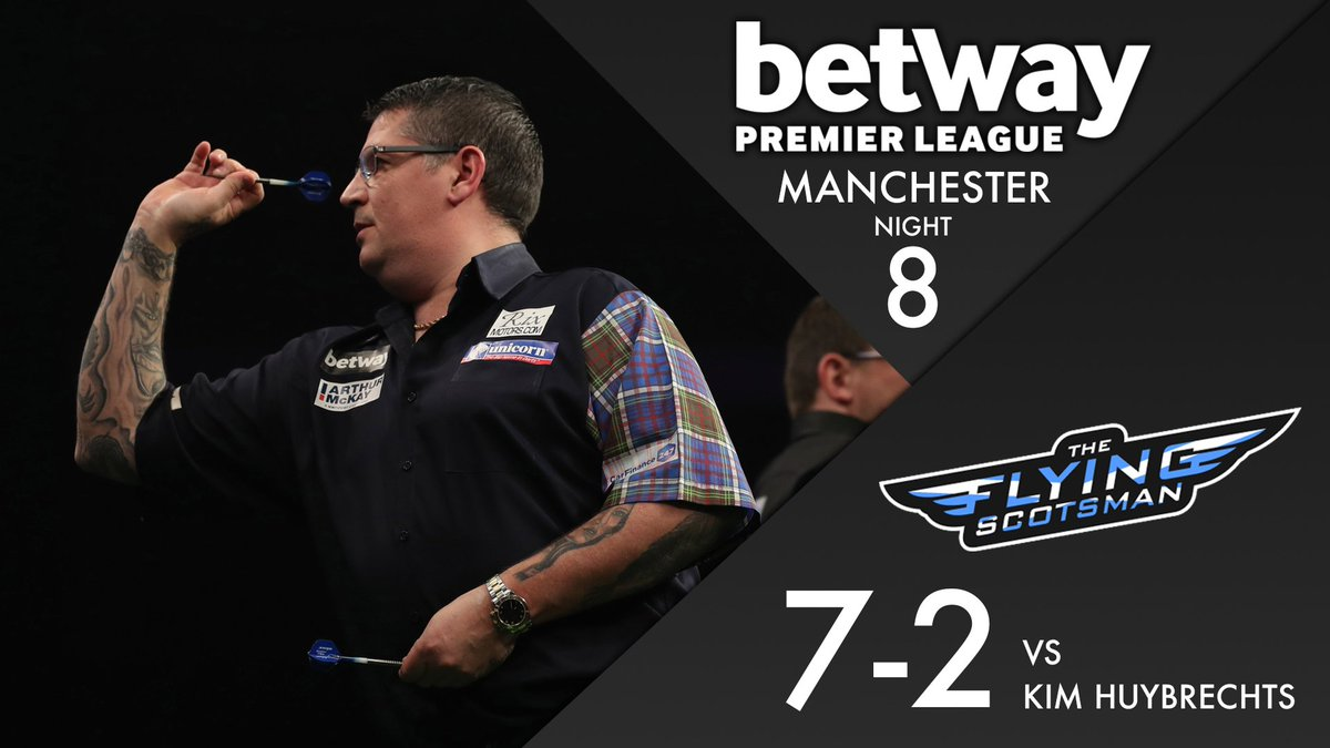 RESULT! Gary Anderson beats Kim Huybrechts to send him crashing out of...