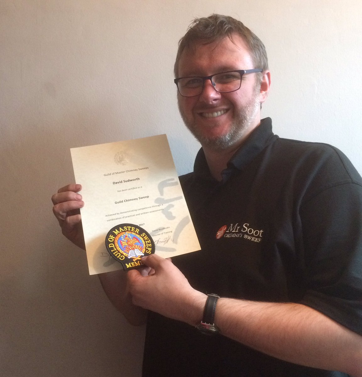 Good news from Mr Soot HQ this week - we are now certified by the Guil...