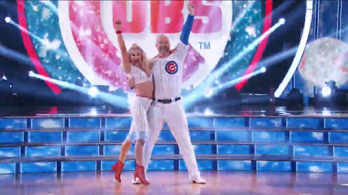 This ballgame is burning up the ballroom! 🔥 ⚾ #DWTS