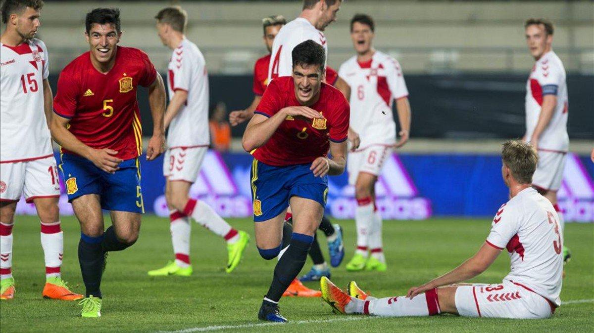 #SeFutbol | Denis certifica la victoria de la Sub'21 https://t.co/9BCV...