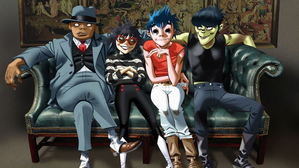 #Gorillaz unveil new album, Humanz, and release new song, 'Saturnz Bar...