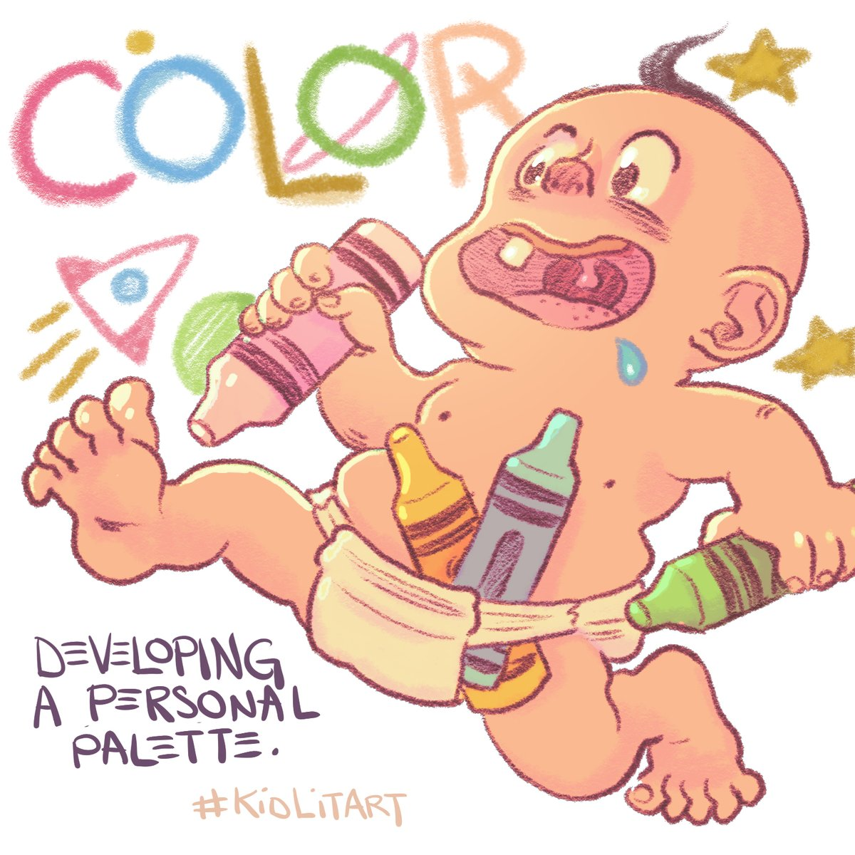 Thumbnail for #kidlitart Developing Your Color Palette 3-23-2017