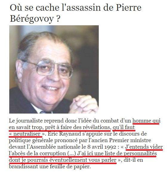 1992: #Beregovoy brandit une liste de #corrompus à l&#39;#AN...  1993: il est retrouvé #suicidé de 2 balles dans la tête... #LEmissionPolitique<br>http://pic.twitter.com/AQW9R1ZQlq