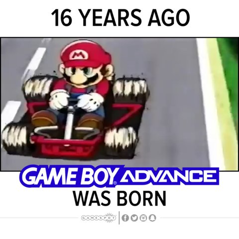 Gameboy Advance released 16 years ago! Did you own one? #Nintendo