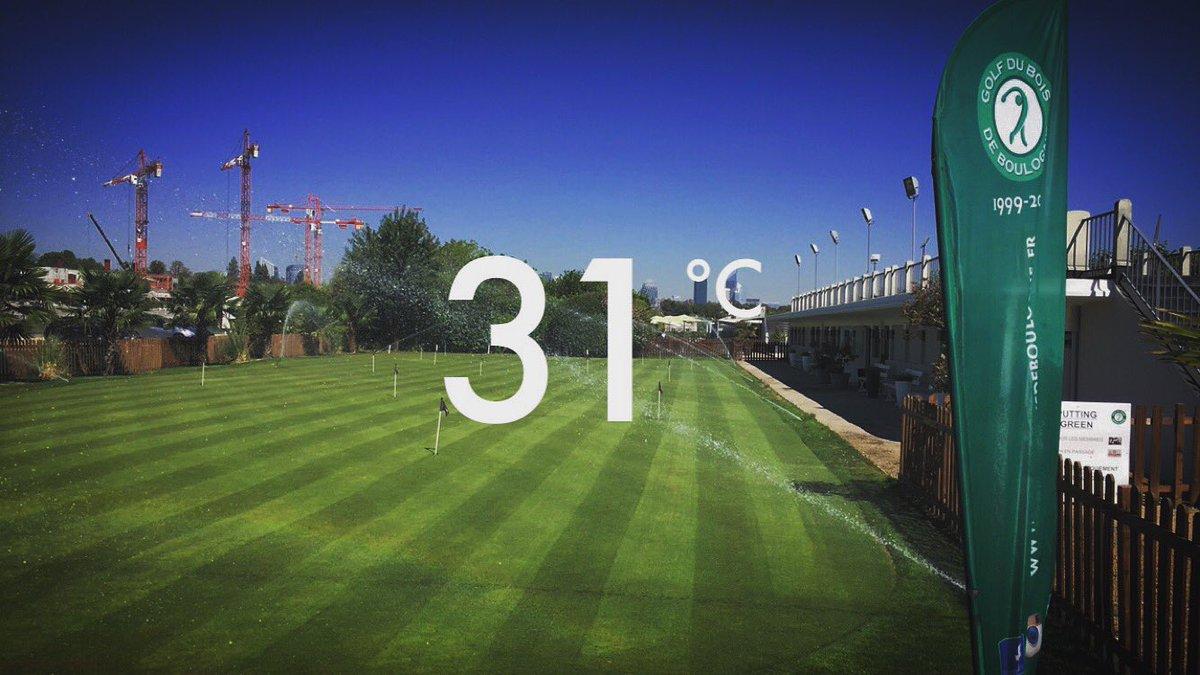 Vivement l&#39;été ! Can&#39;t wait for #summer #golf #paris #greenkeeper #golfmaintenance #turf #sun #putting<br>http://pic.twitter.com/0xEJZfc1WX