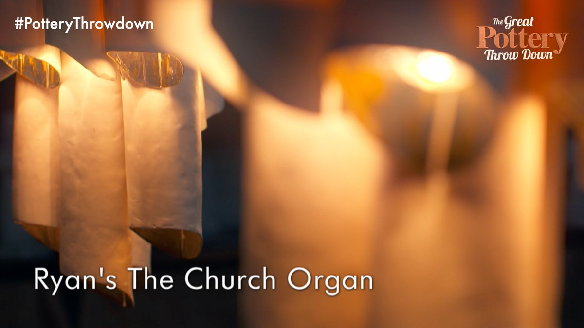 Ryan's organ is mightily impressive. #PotteryThrowdown https://t.co/4H...