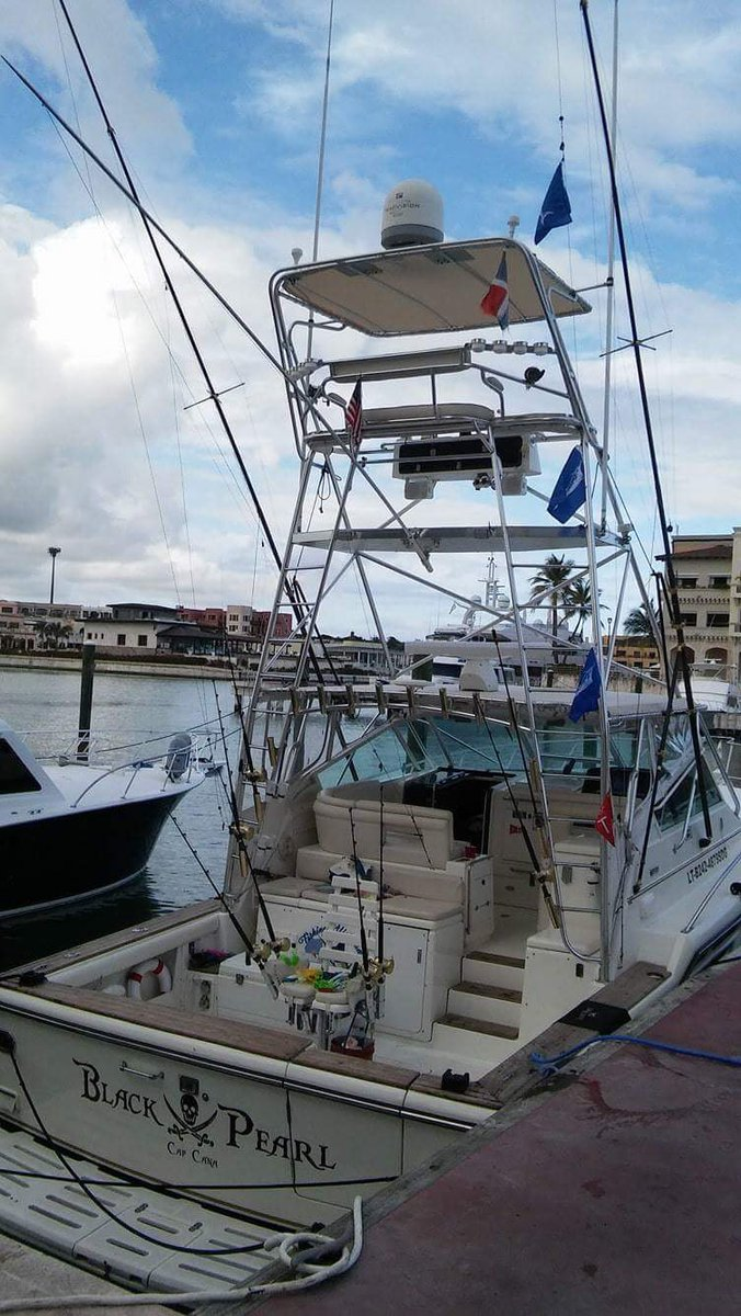 Cap Cana,DR - Black Pearl went 3-3 on White Marlin.