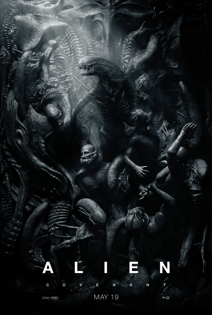 new Alien: Covenant poster reminds me of Gustave Doré's illustrations for Paradise Lost