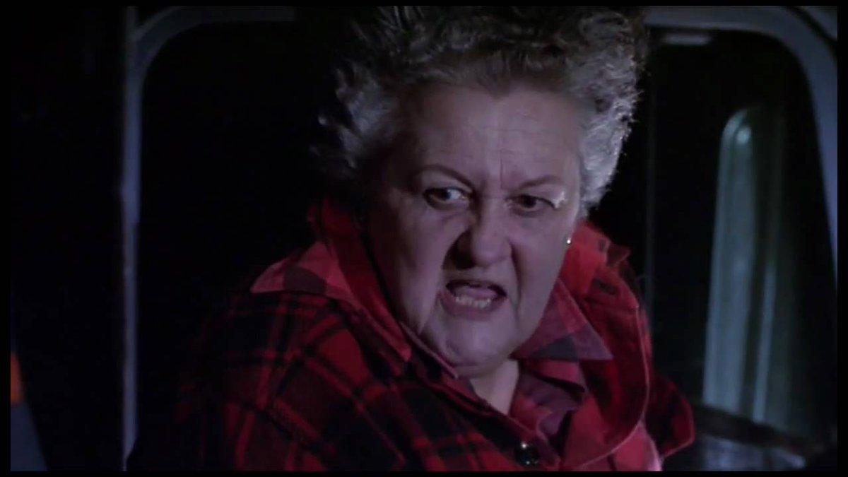 As a kid Large Marge in 'Pee Wee's Big Adventure' gave me nightmares f...