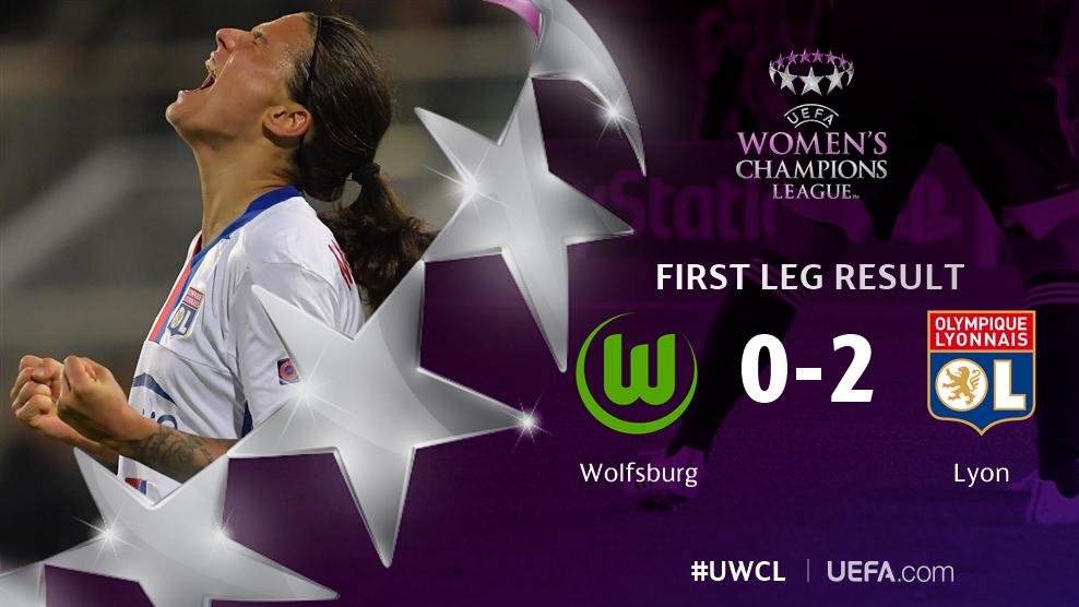 RESULT Wolfsburg 0-2 Lyon (Abily 62, Marozsán 74) #UWCL https://t.co/U...