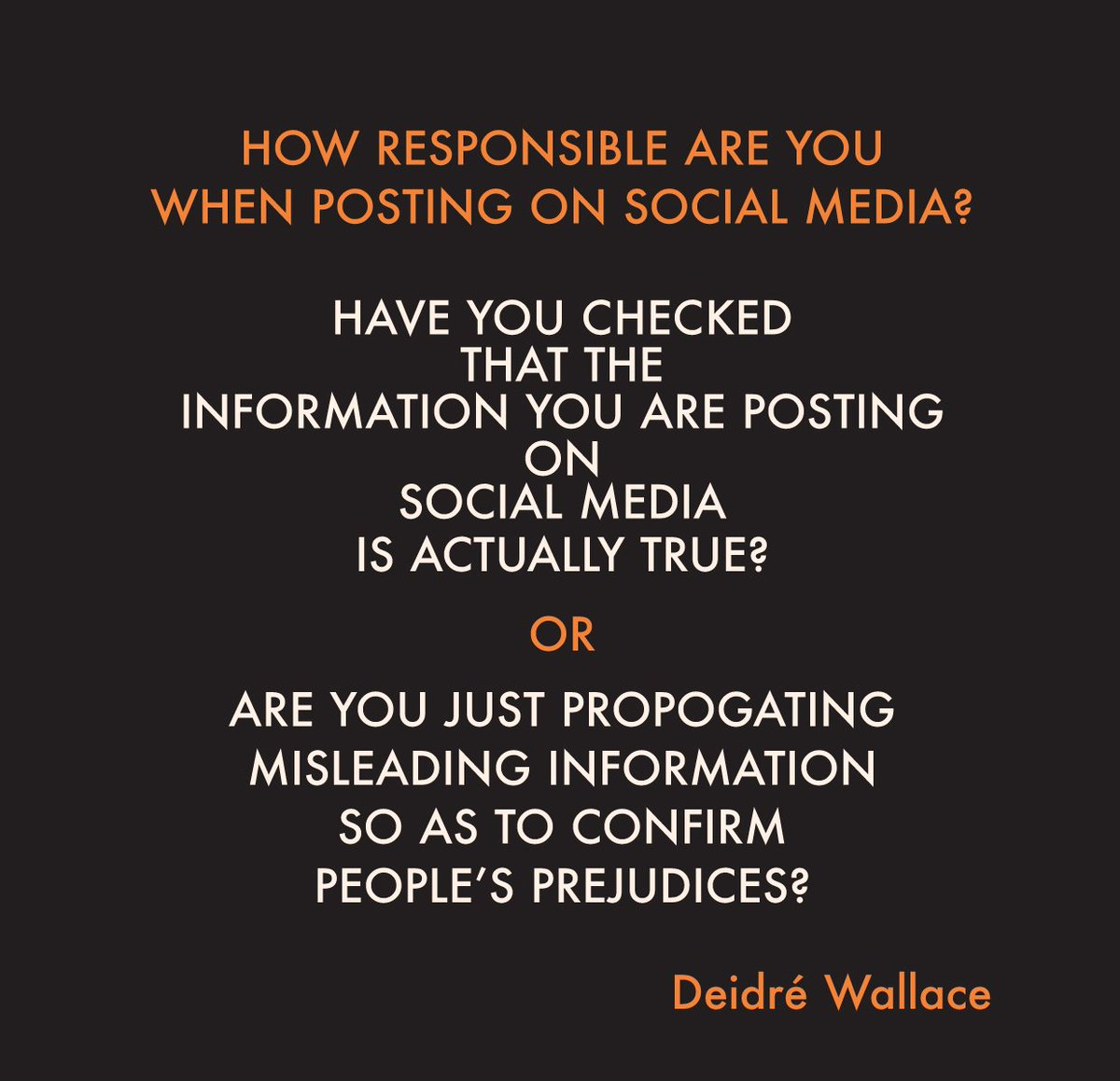 How #responsible are you when posting on #socialmedia? https://t.co/Mb...