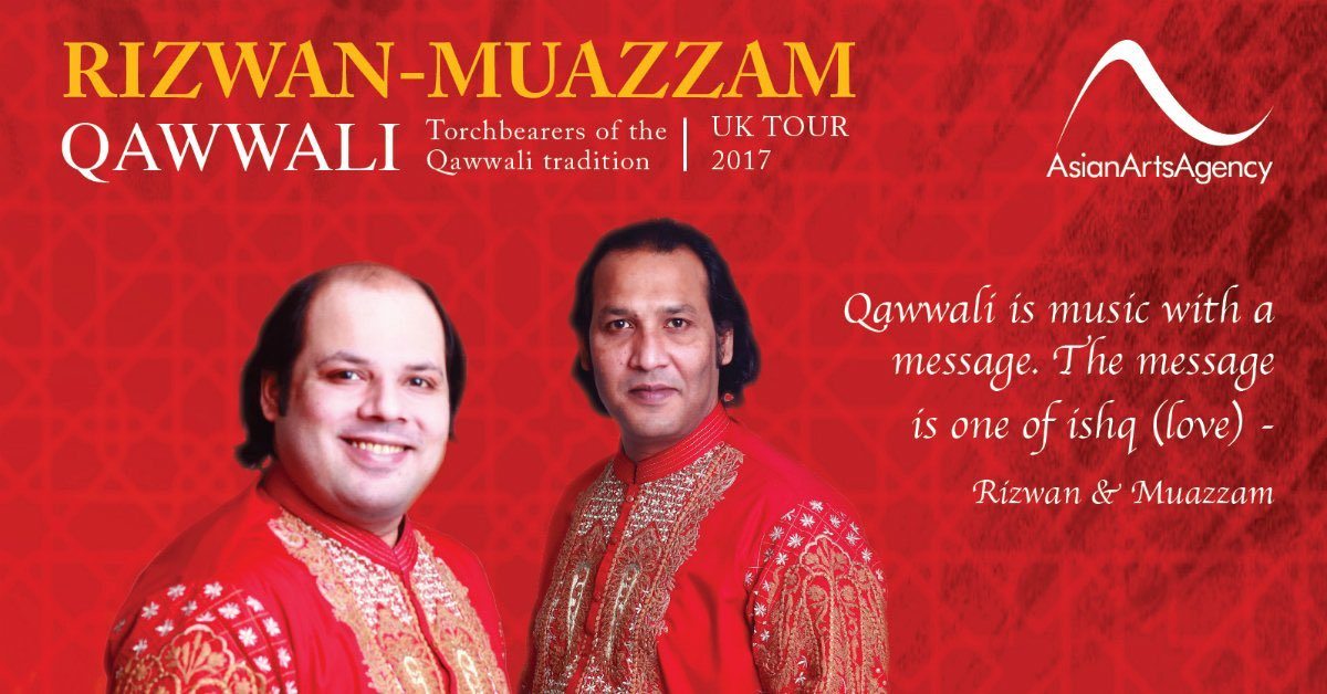 I have to agree with @guardian #RizwanMuazzam #Qawwali = 'One of the most exhilarating improvised vocal styles on the planet' https://t.co/OWly7M7r08