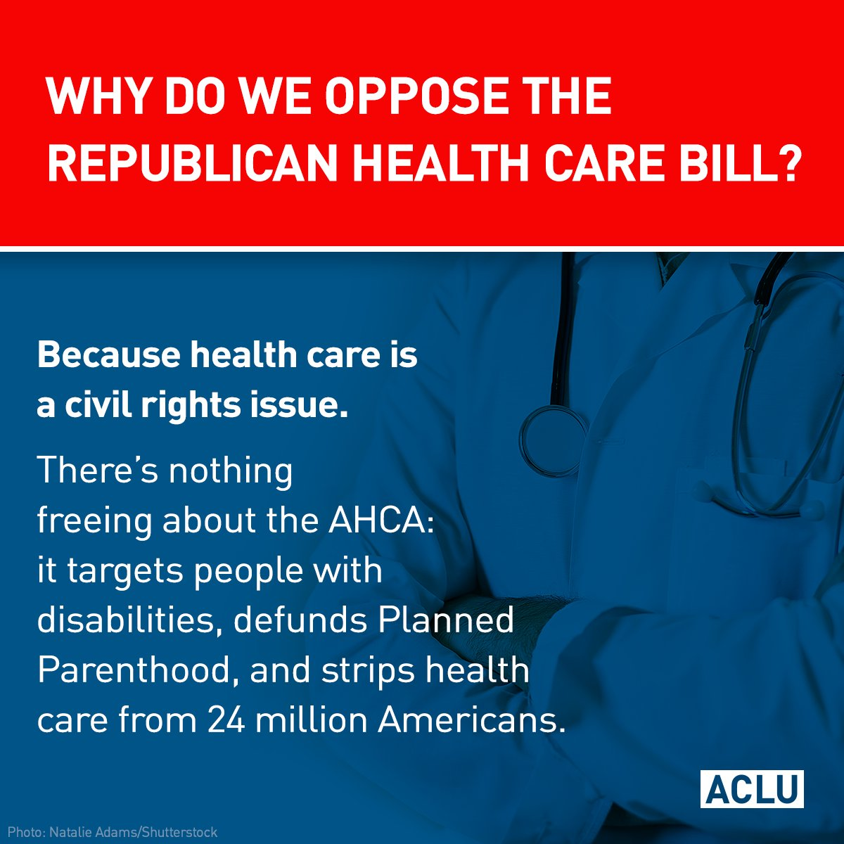 The #AHCA vote was delayed. Take action: call your members of Congress...
