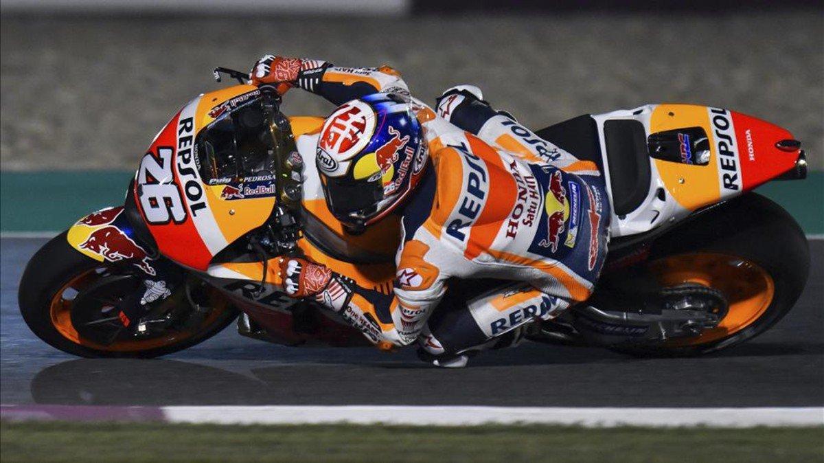 #MotoGP | Pedrosa: 'Había que aprovechar al máximo la pista en seco' h...