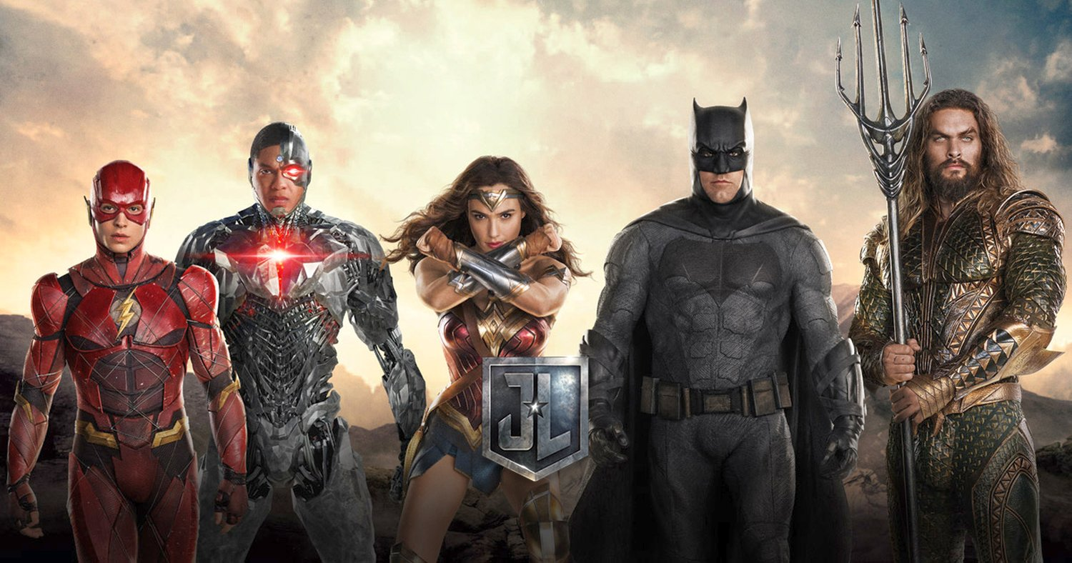 Justice League Teaser Trailer & Posters Revealed