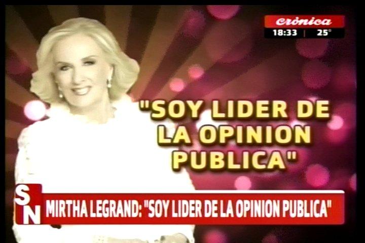 #SiempreNoticias | #QuienDijo  'Soy líder de la opinión pública'  Resp...
