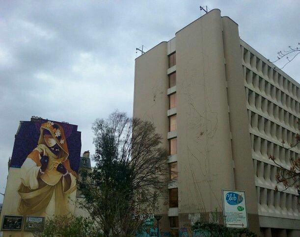 Quel artiste pour ce nouveau #mur #paris13 ? #paris13streetart #urbanart #arturbain #muralisme #streep #muralism @g_itinerrance<br>http://pic.twitter.com/xiMLj3TbEC