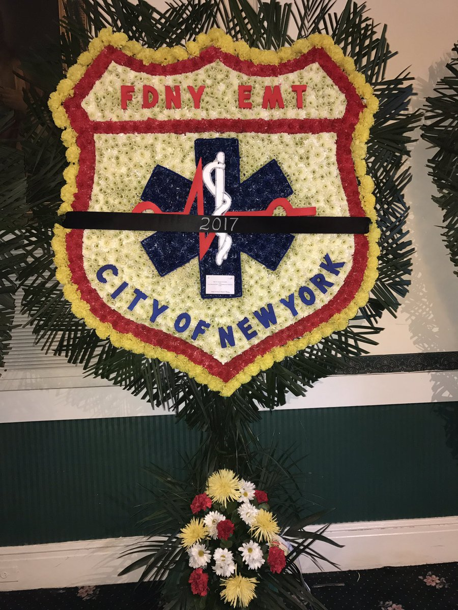 FDNY Women On Twitter Evening Visitation For Our Sister EMT Yadira Arroyo From 7 9 At Lucchese Funeral Home