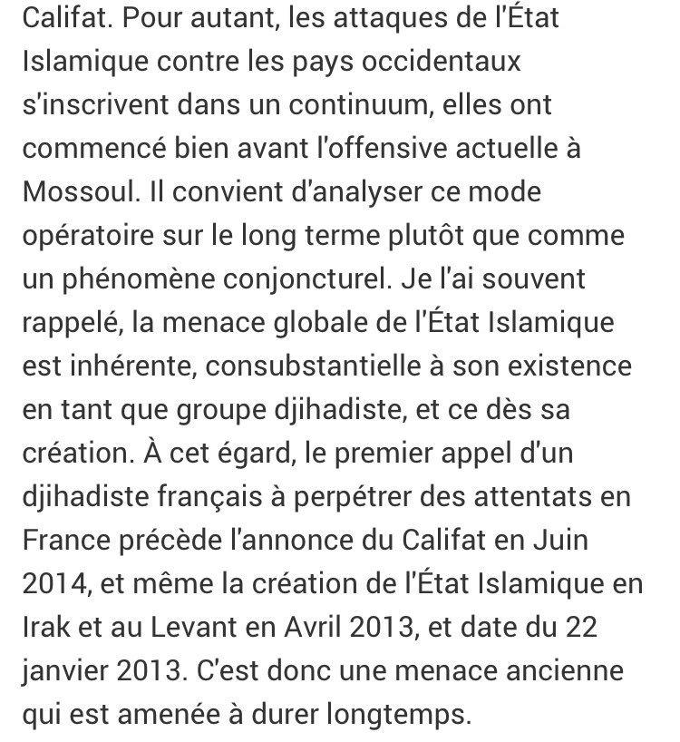 Menace #terroriste #Syrie #Irak: le premier appel d&#39;un #djihadiste français à frapper la France date de janvier 2013 @JcBrisard @FigaroVox<br>http://pic.twitter.com/dRhgUz9qR0