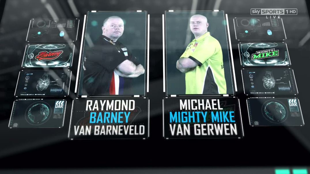 Last up... RT for Barney! Like for Mighty Mike! Sky Sports 1 now! http...