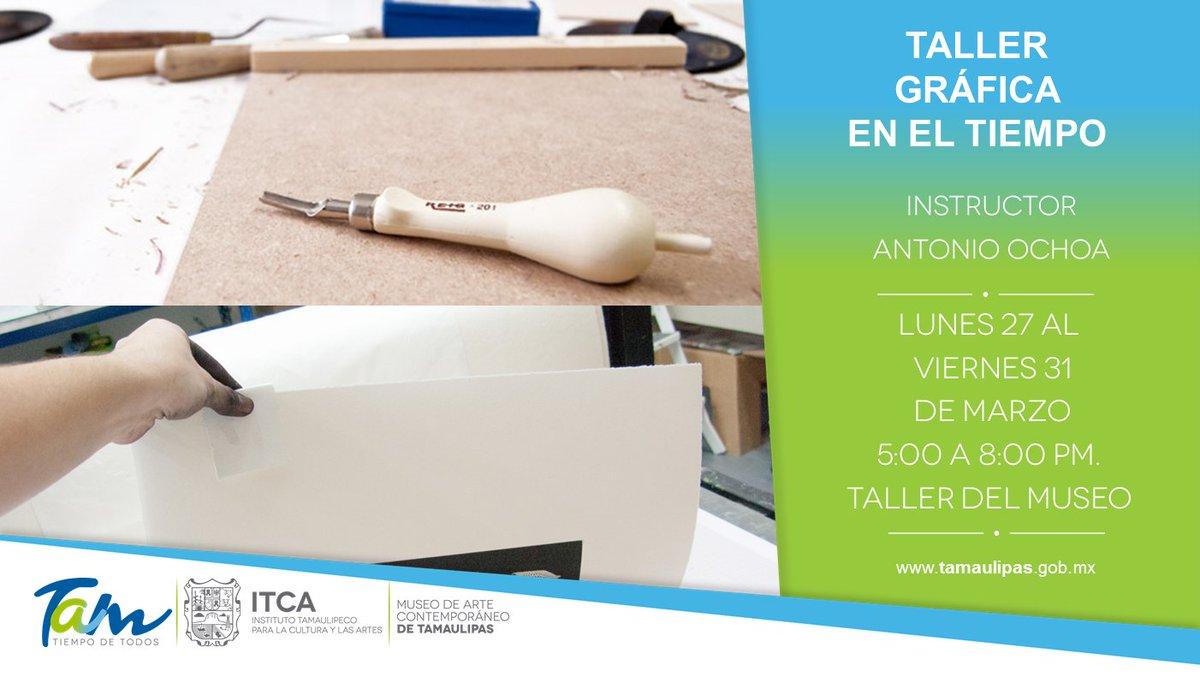 De la Gráfica Tradicional a la Expandida. Te esperamos aquí en el #MuseoDeArteCOntemporáneoDeTamaulipas #Grabado #Arte #Itca<br>http://pic.twitter.com/SwRYD0t1xK